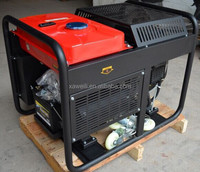 home standby power 10kva super open type air cooled AC single phase diesel generator