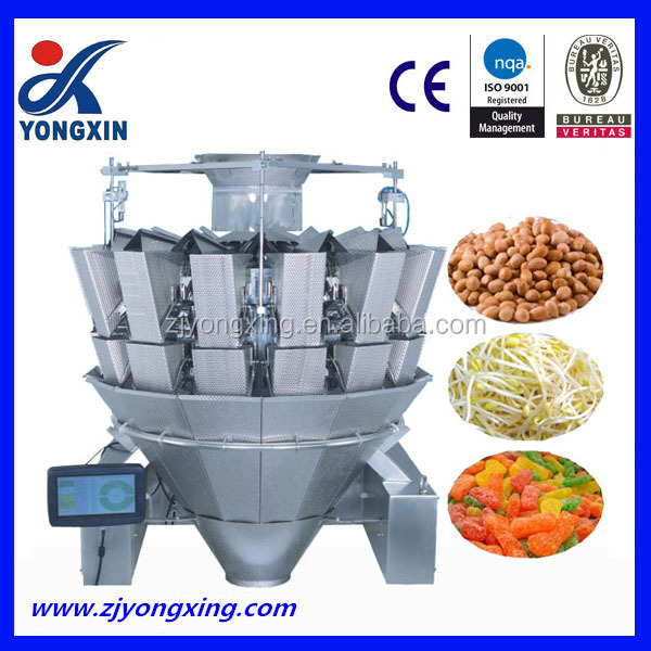 Automatic Weigher Manual Chocolate Bar Packing Sugar Machine