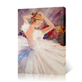 Hd Ballet Dancer Girl Canvas Wall Art Oil Painting Reproduction Giclee Prints on Canvas Home Decoration Living Room Decor