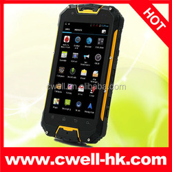 Snopow M8 Waterproof IP68 mobile phone with walkie talkie PTT 4.5 Inch Android 4.2 MTK6589 Quad Core 3000Mah Battery