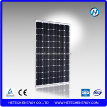 High efficiency 260w monocrystalline solar panel pv module from Henan