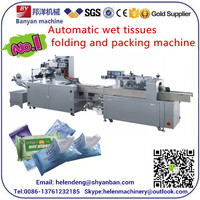 YB--250A Automatically Baby Wet Wipes Production Line, wet tissue packaging machine