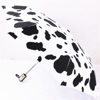 White Professional Cow Umbrella Factory In China