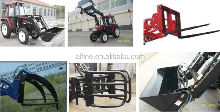 Factory supply good quality CE certificated mahindra tractor front end loader