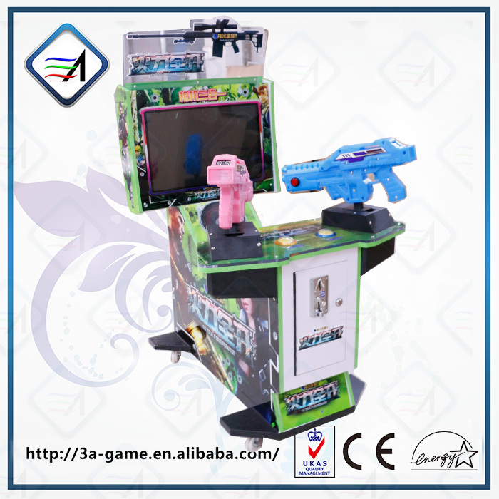 22'' LCD Coin Operated Indoor Unltra FirePower 3 in 1 Simulator Gun Shooting Video Games