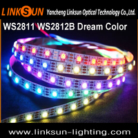 WS2811 WS2812B WS2821 SK6812 Addressable Changeable Emitting Color led light strip