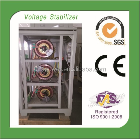 High Accuracy 3Phase 60KVA Servo Controll AC Voltage Stabilizers