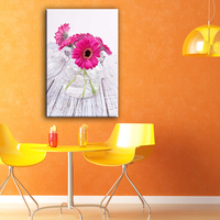 Beautiful decorative home goods wall art canvas painting with glass coating