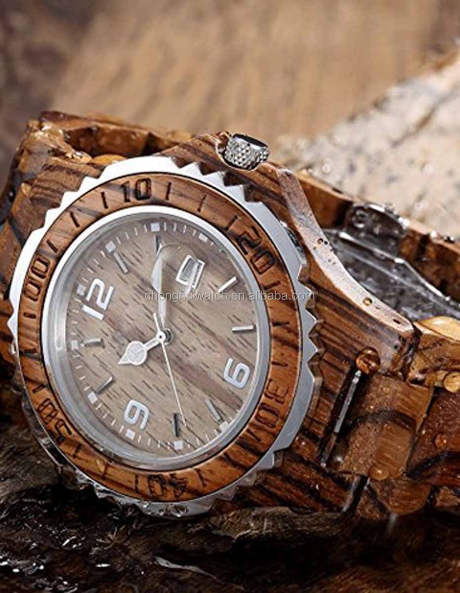 lovers men for wood birthday custom watches leather gift logo watch photo your bamboo customized brand unique wooden mens quartz own product causal