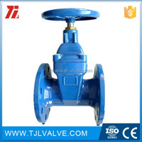 wafer type di/ci screw type butterfly valve drinking water/water din/ansi