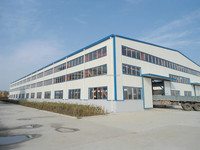 High quality prefabricated steel structural garment factory