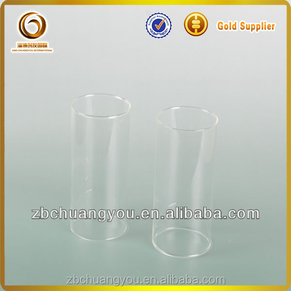 High temperature glass flat bottom pyrex glass test tube (J-181)