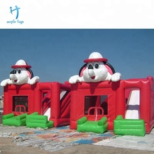 Factory high quality floating inflatable water bouncy castle for kids custom toy
