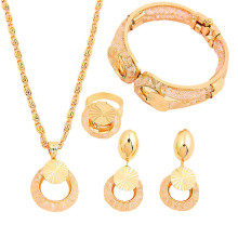 artificial set jewellery, african fashion gold plated hot sale jewelry sets for women