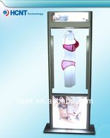 New Invention ! magnetic levitation led display rack for underwear, rainbow bra