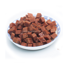 Factory Price pet snack Dog Treats Beef meat cubes