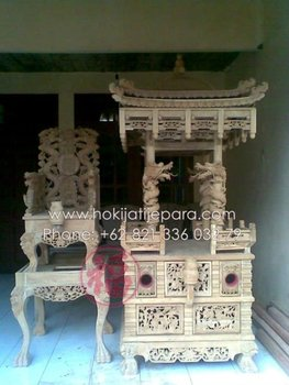 CHAIR DRAGON JOLI PAGODA Solid Wood