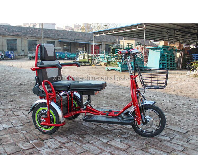 EEC Approval 2000w Power Adult 3 Wheel Electric Tricycle