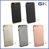 [GGIT] New 3D Laser Engraving Three-stage Electroplated TPU Cell Phone Case For IPhone 6 Plus Back Cover