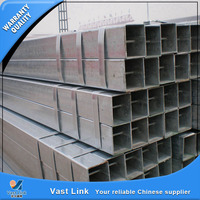 manufacture bs1387 hot galvanized square steel tubing