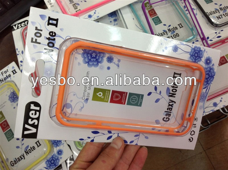 Mobile phone case protective for Samsung Galaxy Note 2 N7100