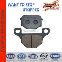 Front brake pad for SUZUKI GN 125;High Performance brake disc for motorcross spare parts;brake part electric scooter spare parts