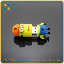wholesale minions usb flash drive , 8gb minions pendrive usb