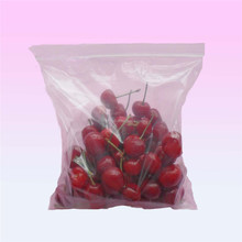 Fruit packaged factory manufactured cherry plastic zipper pouch