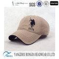 Custom Embroidery cotton 6 panel baseball cap
