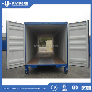 20ft two end door shipping container 40ft double door container