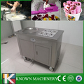 Upgrades new flat pan fry ice cream machine/hot sale fried ice cream machine