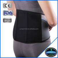 China Supplier customized Medical adjustable neoprene protection waist support / Lumbar Brace