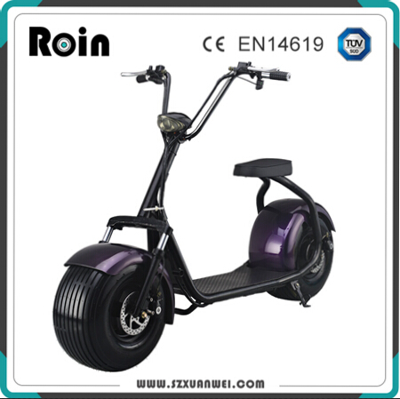 2017 best price electric scooter citycoco/two fat wheel electric motorcycle scooter