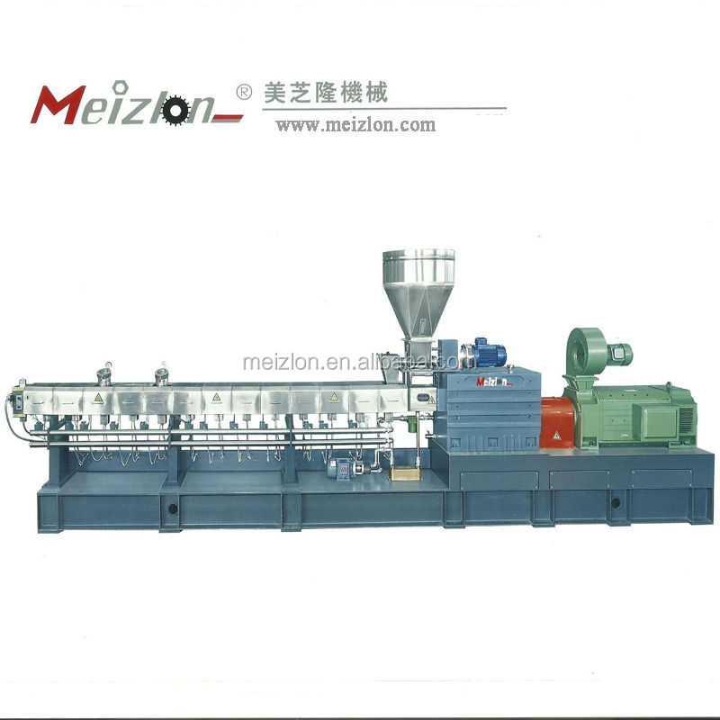 waste plastic stretch film recycling extruding pelletizing machine/production