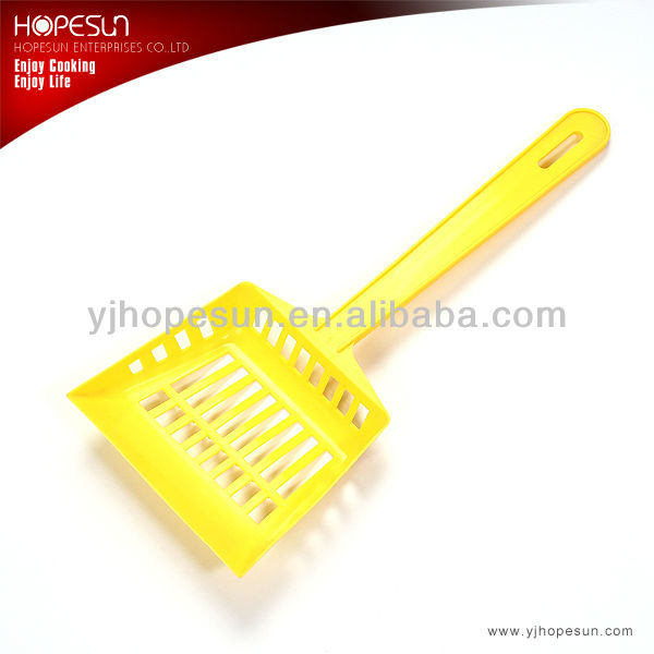 High Grade Plastic Chips Scoop Food French Fries Shovel Handle Fry Scoop