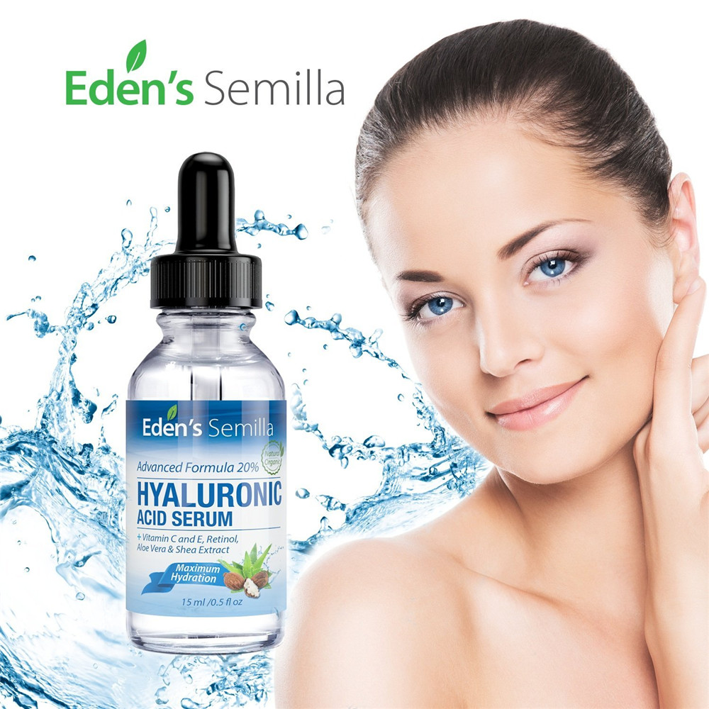 Organic Face Anti-Aging Hyaluronic Acid Serum