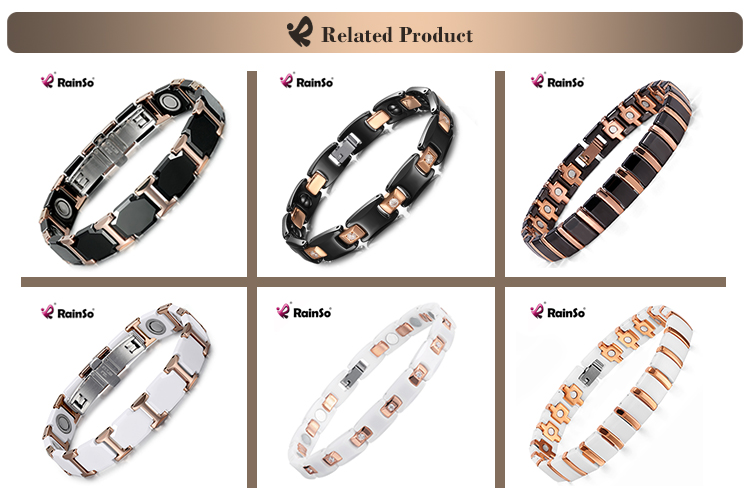 Bio Elements Energy Fine Jewellry for Men and Women Tungsten Ceramic Bracelet Jewelry