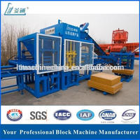 High yield Lingtong hydraulic cement fly ash brick blocks making machine in uk price