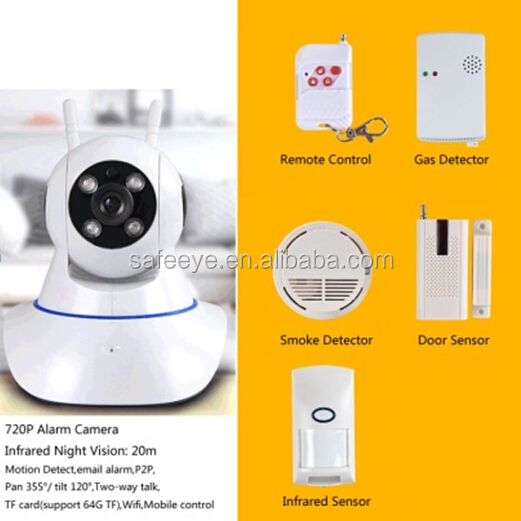 alibaba security camera system day night vision IP camera Active mobile phone alarmsecurity alarms wireless <strong>wifi</strong> P2P IP camera