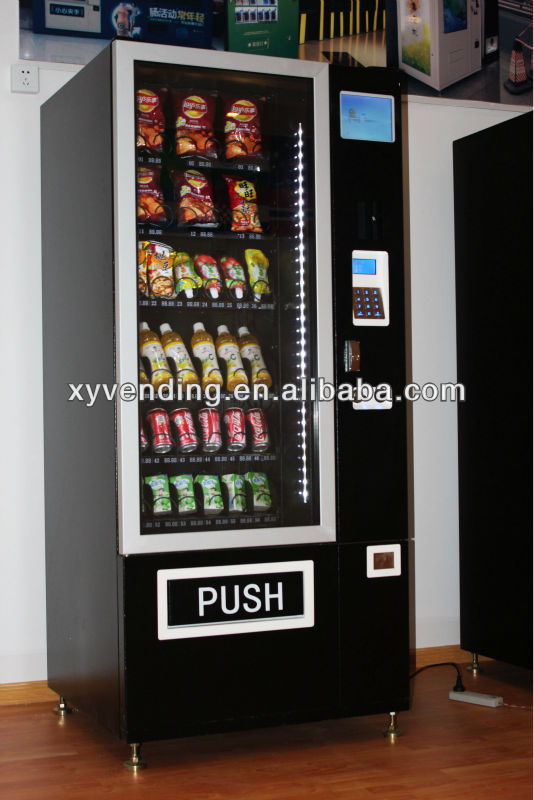 small drinks snacks vending machines