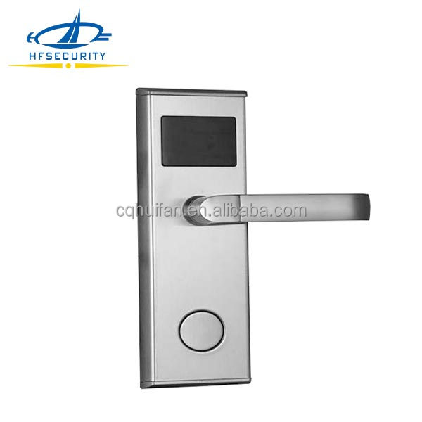 Upgrade Stainless Steel Hotel Electronic Swipe Card Lock (HF-LM601)