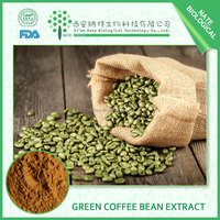 Natural lose weight Green Coffee Bean Extract Chlorogenic Acid 50%