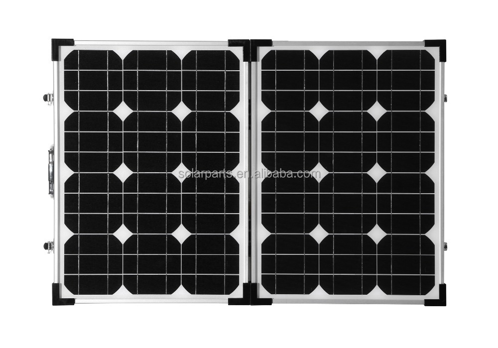 Portable Brilliant quality foldable pv modules 70W Mono folding solar panel charger