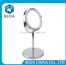 High quality factory supplier hot sale customized make up mirror table with led light