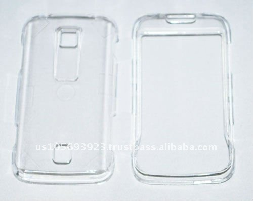 Crystal transparent hard Case for Huawei Ascent M860