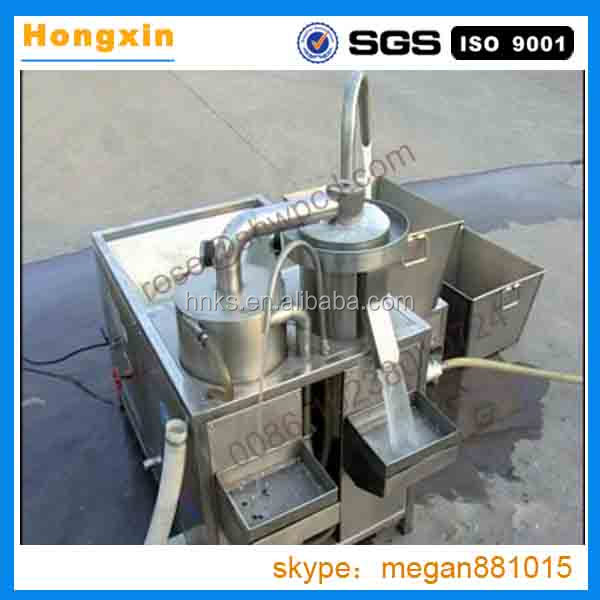 China supply stainless steel automatic rice washing machine/commercial rice cleaning machine cheap on sale