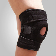 2017 hot sale Open-Patella Stabilizer with Adjustable Strapping and Extra-Thick Breathable Neoprene knee support sleeve