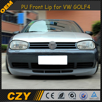 GOLF 4 Bumper Lip PU JC Style Front Lip Spoiler for VW GOLF 4