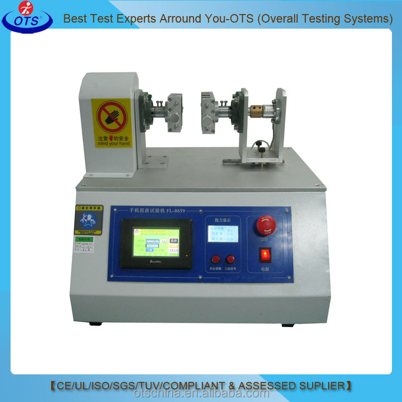 Mobile Phone Twist Bending Tester Mobile Phones Torsion Testing Machine