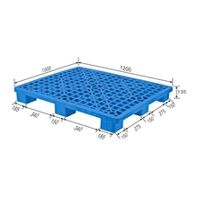 Mixed plastic pallet for sale